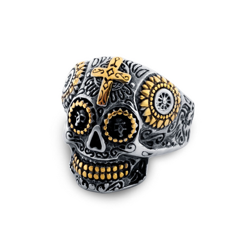 Gothic Skull - Ring - fastandtune