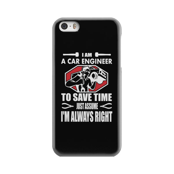 I am a Car Engineer - Phone case - fastandtune