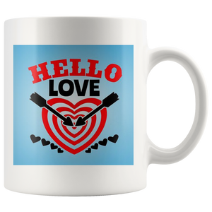 Hello Love - White Mug - fastandtune