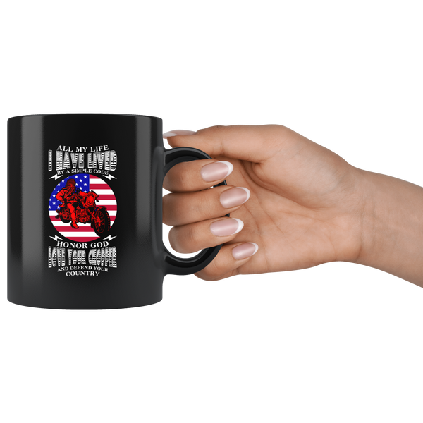 All my Life I Lived by a Code - Mug - fastandtune