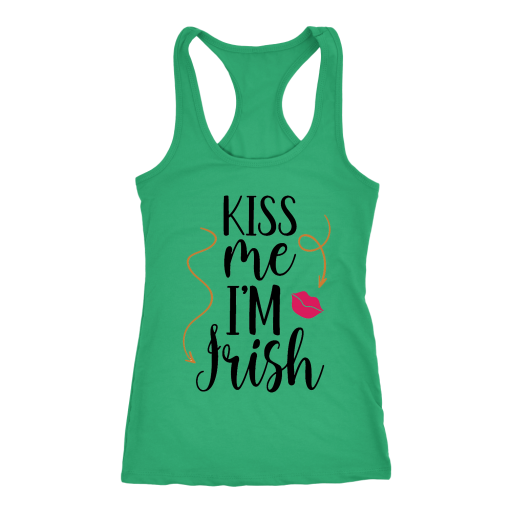Kiss me I'm Irish - Tank top - fastandtune