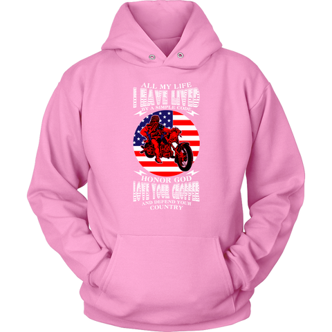 I have lived by a Code - Hoodie - fastandtune