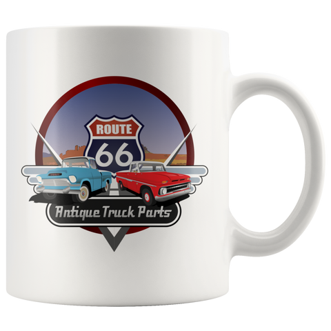 Antique Truck Parts - Mug - fastandtune