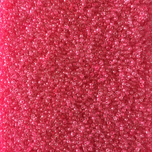 Hot Pink Size 11/0 Seed Beads Direct From Easy Beads - 2mm (Hole 1mm)