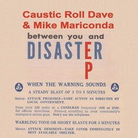 Caustic Roll Dave & Mike Mariconda Between You And Disaster EP