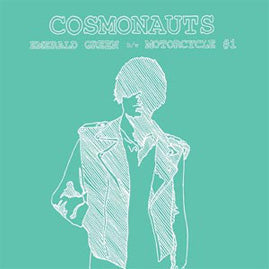 Cosmonauts – Emerald Green/Motorcycle #1