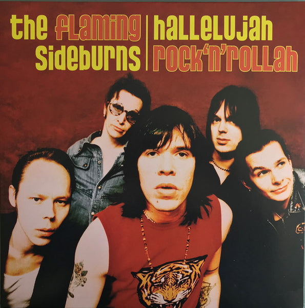 The Flaming Sideburns – Hallelujah Rock'n'Rollah