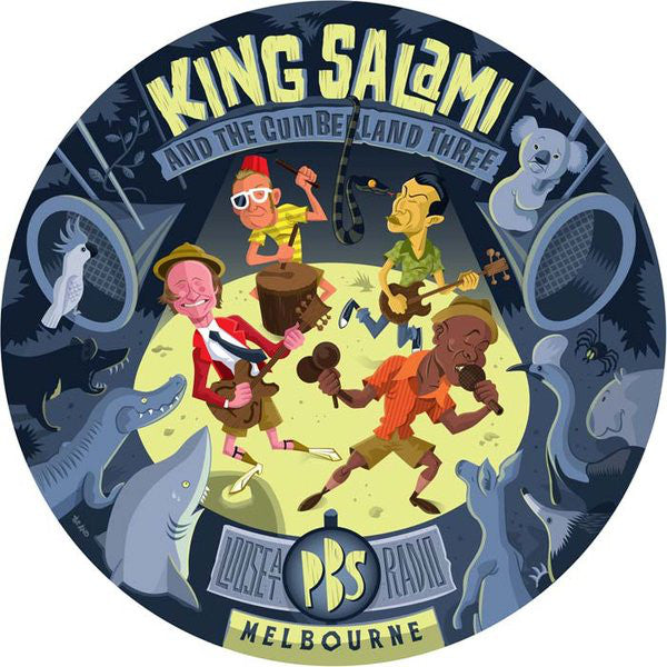 King Salami & The Cumberland Three – Loose At PBS Radio Melbourne