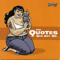 The Quotes  / Doug Stanhope – She Got Me / Suicide