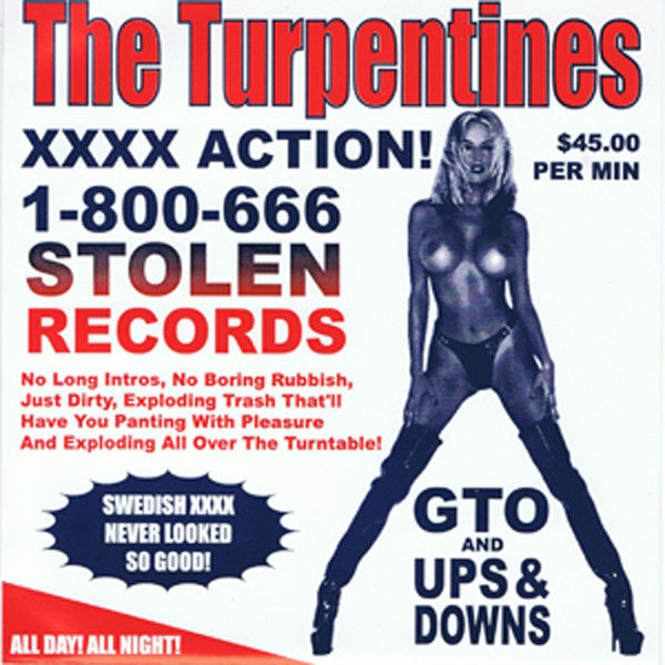 The Turpentines / The Spoilers – Stolen Records Issue #3