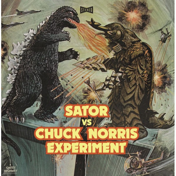 Sator, The Chuck Norris Experiment – Sator Vs The Chuck Norris Experiment