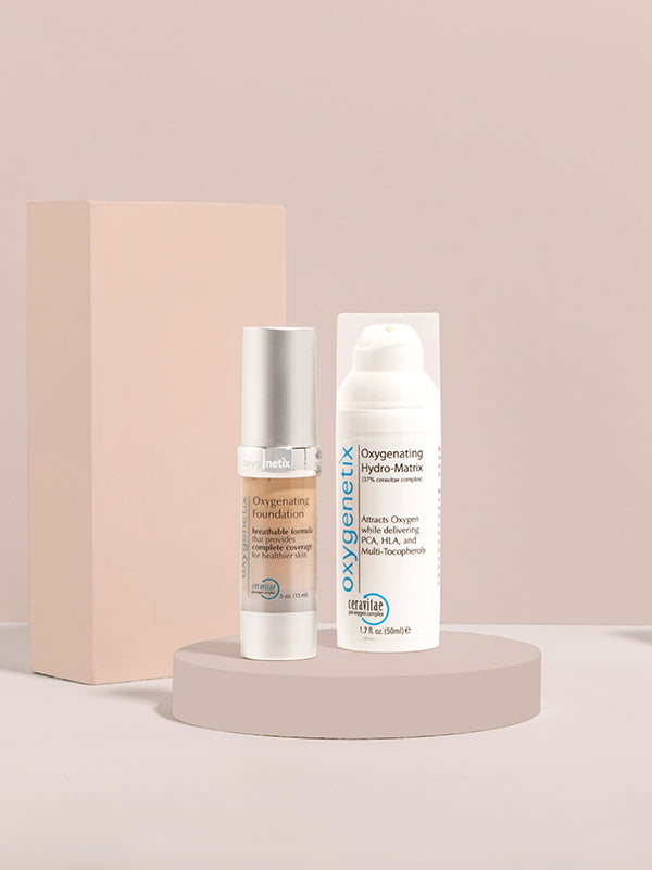 Oxygenating Foundation & Oxygenating Hydro-Matrix Bundle (50ml)