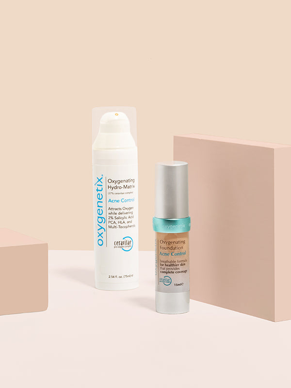 Acne Control Foundation & Acne Control Hydro-Matrix Bundle (75ml)