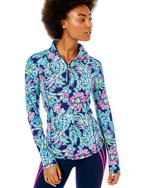 Justine Half Zip Upf 50 Plus