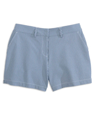 Womens Inlet Seersucker Performance Short
