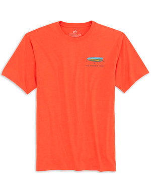 Mens Shortsleeve Skipper Jocks Lure Shop Heather Tee