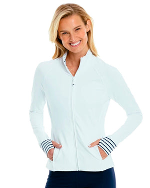 Womens Viviette Performance Full Zip