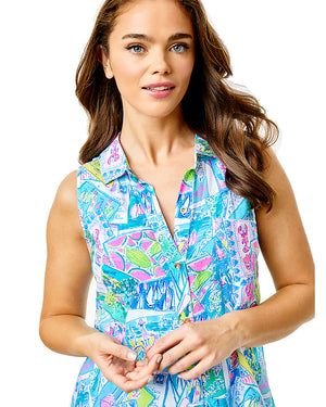 Sleeveless Natalie Coverup