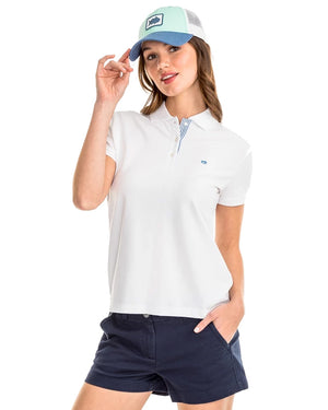 Womens Shortsleeve Skipjack Polo