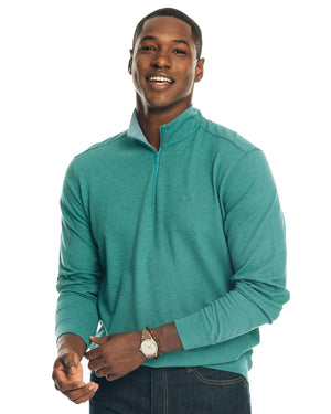Mens Skipjack Heather Quarter Zip