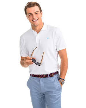 Mens Shortsleeve Skipjack Polo