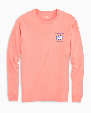 Longsleeve Heather Original Skipjack Tee