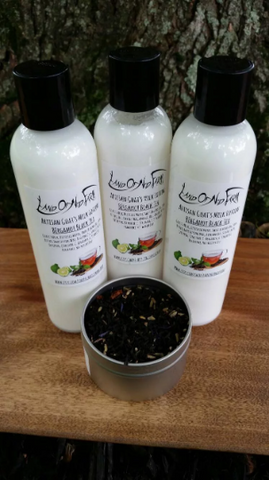 Bergamot Black Tea Goat's Milk Lotion