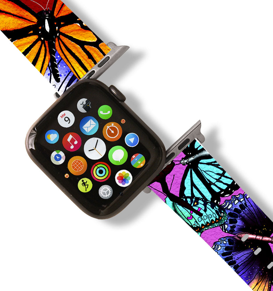 Butterflies Apple Watch Band