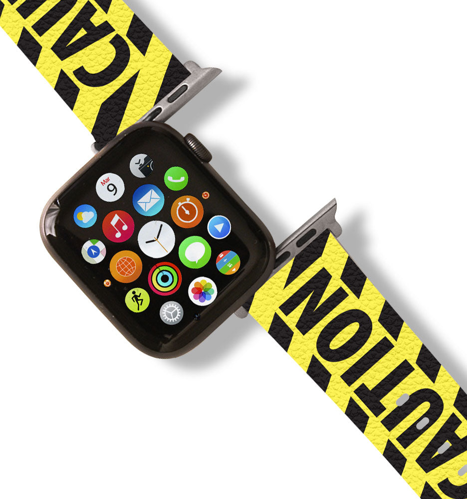 Caution Apple Watch Band