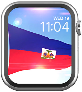 Haitian flag Live wallpaper