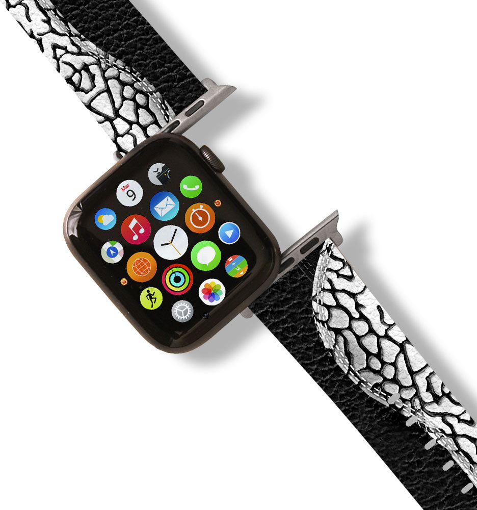 J Cement 3 Inspired Apple Watch Band
