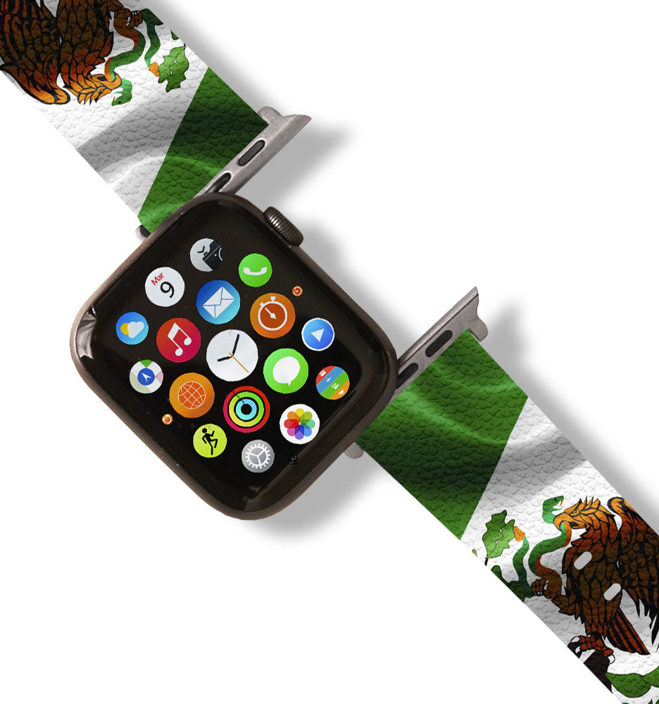 Mexican Flag Apple Watch Band