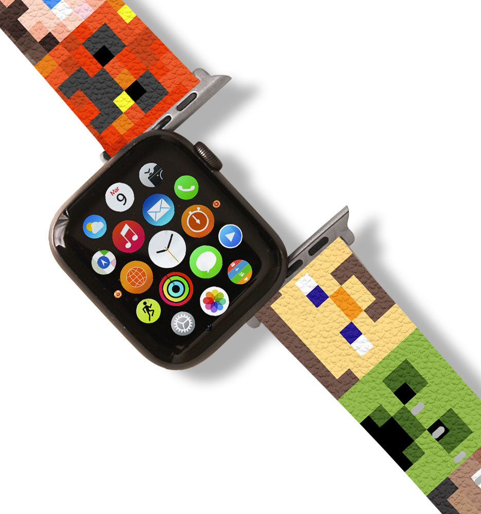 Minecraft Apple Watch Band