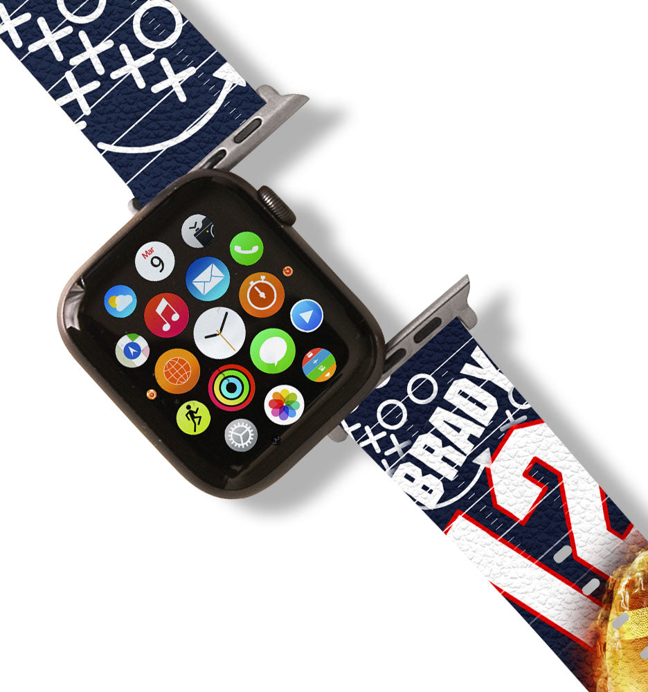 Brady Tribute Apple Watch Band