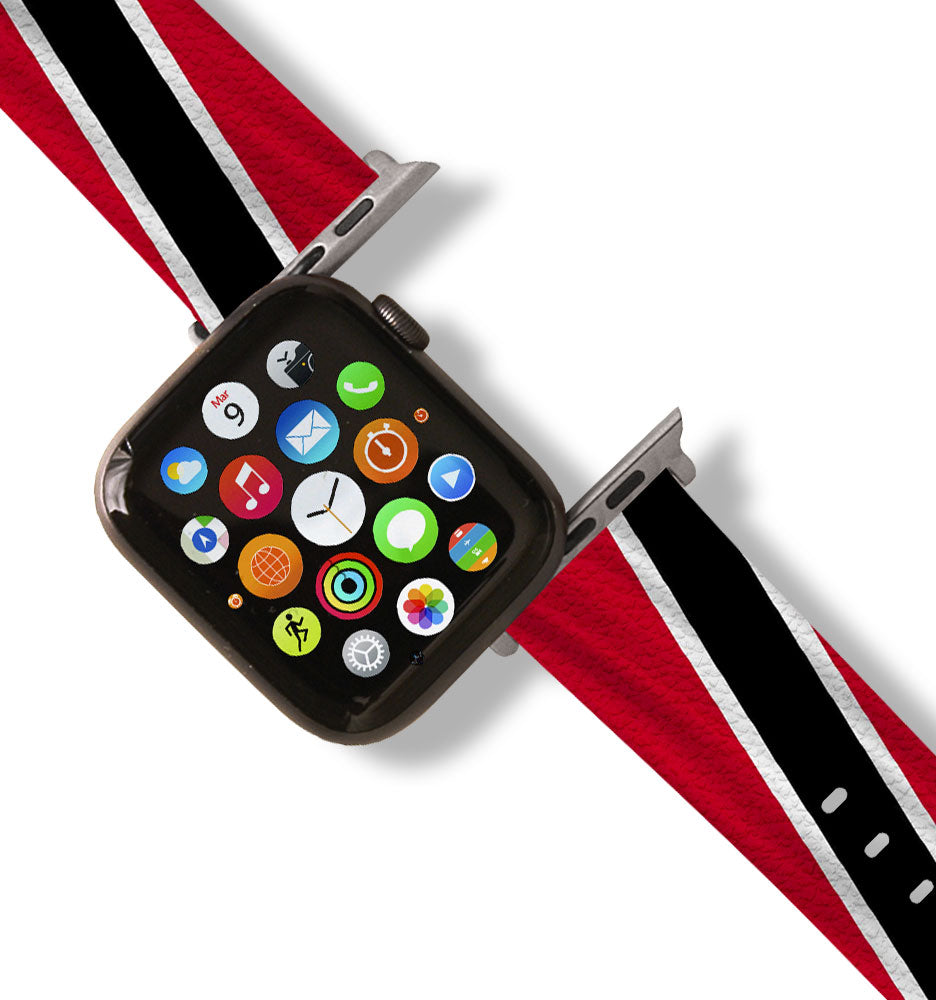 Trinidad and Tobago Flag Apple Watch Band