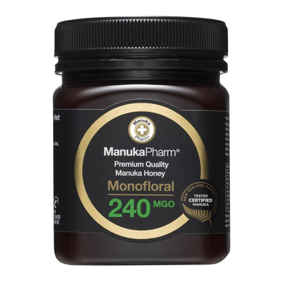 240 MGO Active Mānuka Honey 250g