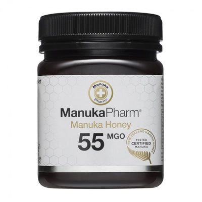 55 MGO Active Mānuka Honey 250g