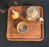 Non Slip Wooden Tray - Japan
