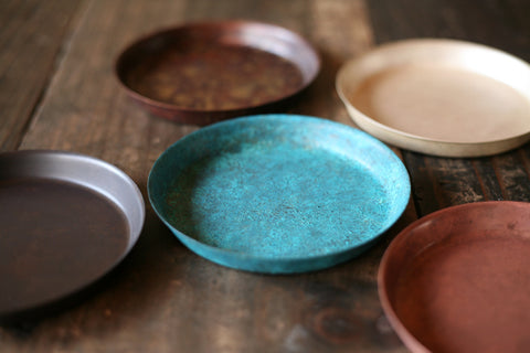 Japanese Oxidized Copper Coaster