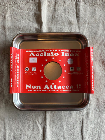 Roasting Pan - Non Attacca - 100% Stainless Steel