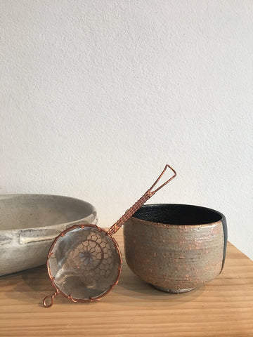 Japanese Copper Tea Strainer