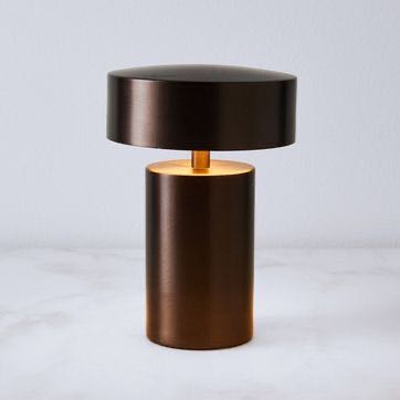 Menu Bronze Column Lamp