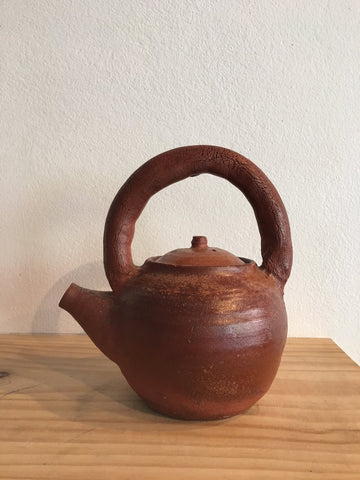 Dark Brown Teapot from Kyoto