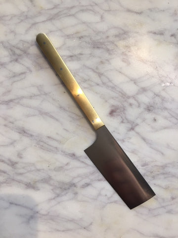 Brass Cheese Knife