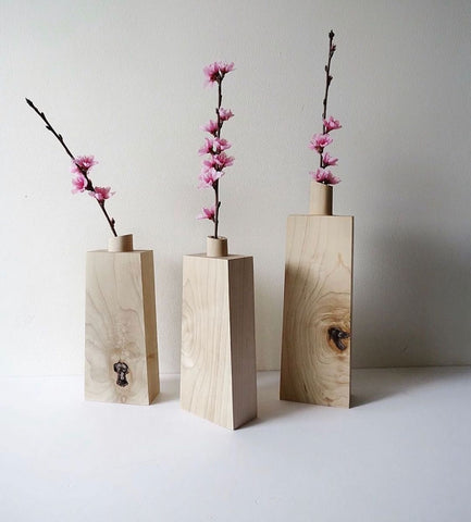 Opus Lab Rock Maple Vases