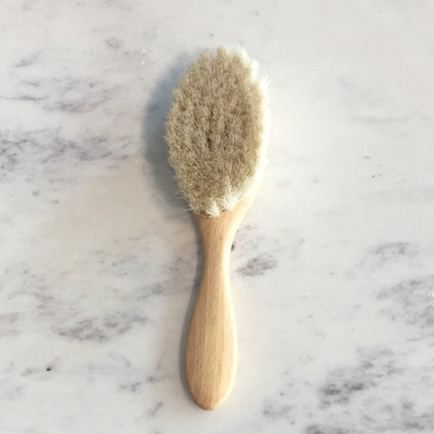 Natural Bristle Baby's Hair Brush