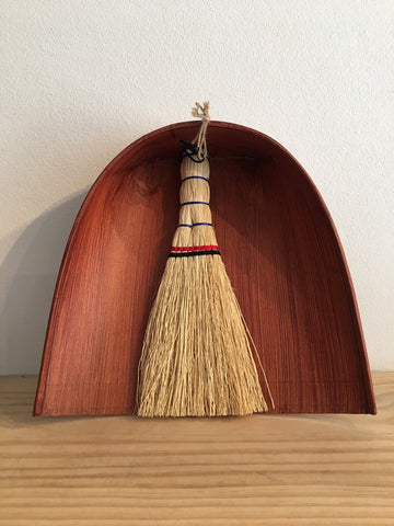 Japanese Dust Pan and Natural Broom