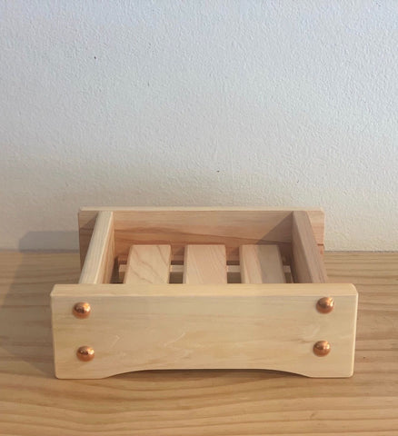 Japanese Hinoki Wood Bathroom/Kitchen Soap Trays