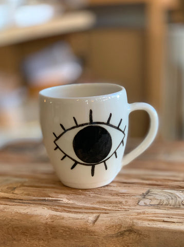 "Elke Lucas x DEA ""Eye"" Mugs"