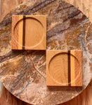 Hand Made Wooden Coasters